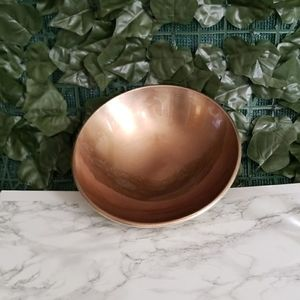 TAG Decorative Bowl Gold Accent